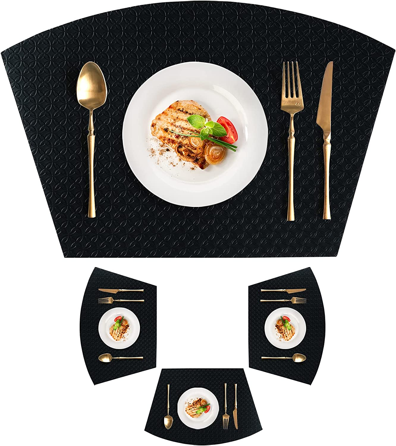 homing Waterproof Placemats Ranking TOP2 for Round Houston Mall Table Heat 4 Set - Resi of