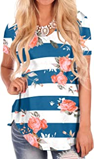 flowered t shirts