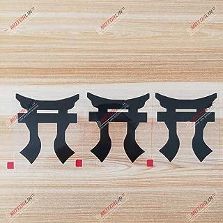 3S MOTORLINE 3X Black 4'' Torri Rakkasans Decal Sticker 101 Airborne 3 Brigade 187 Infantry Car Vinyl