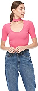Bershka Blouses For Women, Pink M