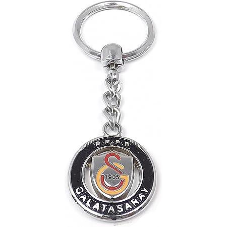 Gök-Türk Schlüsselanhänger Galatasaray GS für Fußballfans aus Metall Gold
