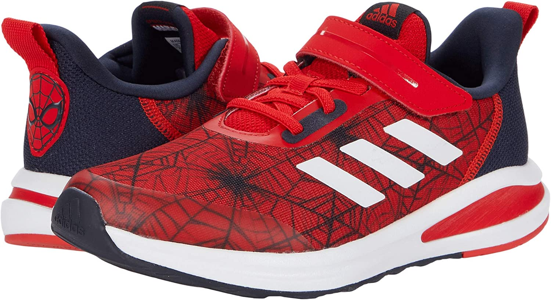 adidas Kids' Fortarun Spiderman Elastic