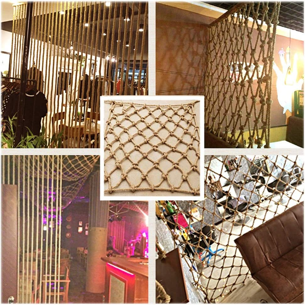 Hemp Free shipping anywhere in the nation Rope High order Net Balcony Protective Netting Decoration Protection