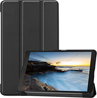 ProCase Funda Folio para Galaxy Tab A 8.0 2019 SM-T290/T295, Carcasa Tipo Libro Fina con Soporte para 8.0 Pulgadas Galaxy Tab A 2019 Tablet, Compatible con Modelo SM-T290(Wi-Fi) SM-T295(LTE) -Negro