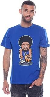 Men's Julius Erving Emoji Cotton Crew Neck T-Shirt