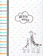 Carter's Hello World Animal Themed Bound Baby Memory Book, 64 Pages, 9