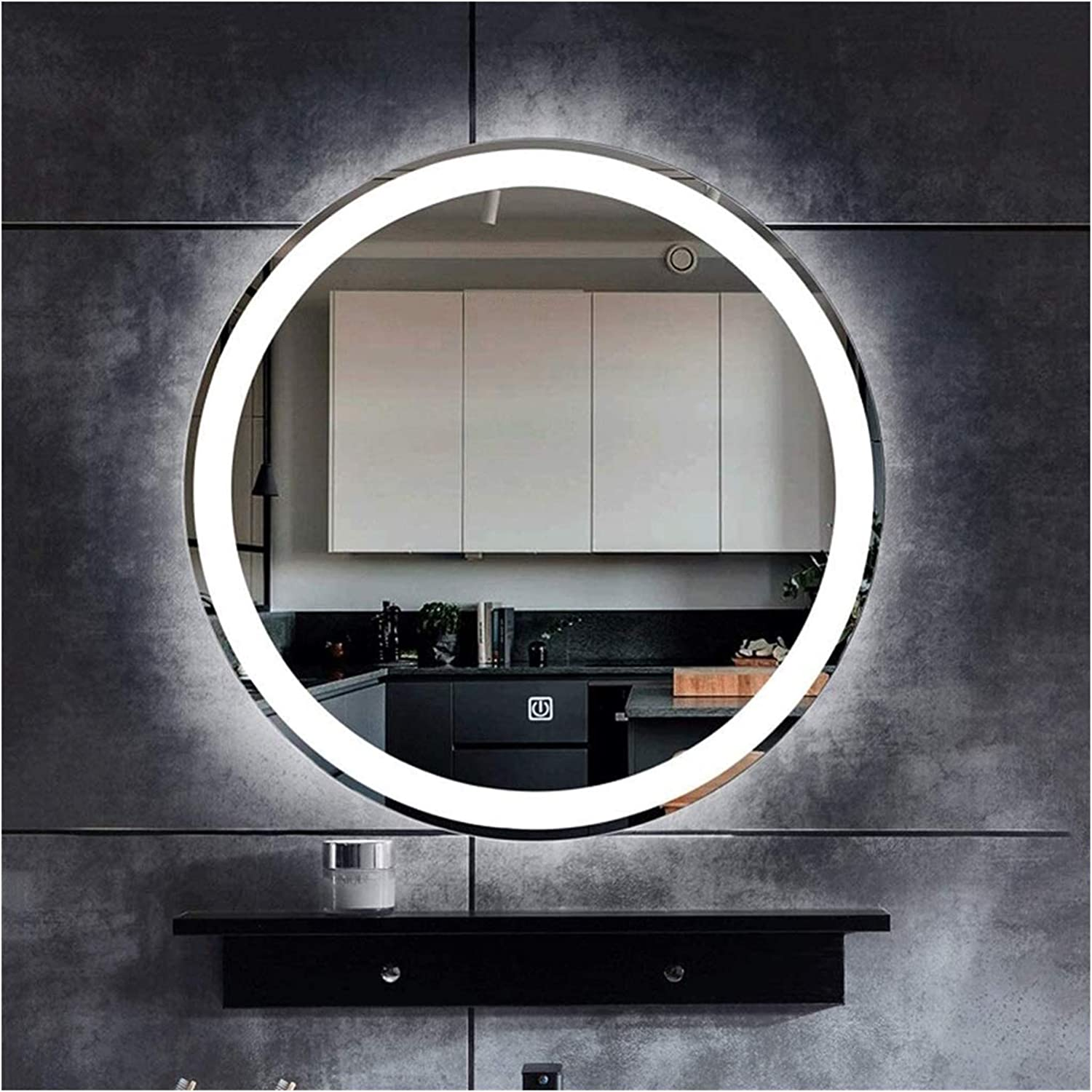 Illuminated LED Bathroom Mirror Touch Max 57% OFF Wall New sales Switch with