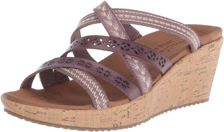 Genuine Skechers Women's Slide Sandal Omaha Mall Wedge