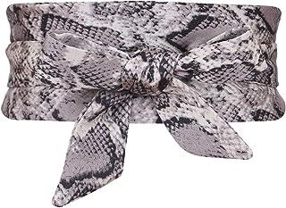 Colorful House Women`s Velvet Wrap Obi Waistband Cinch Belts