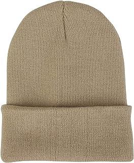 7bbddd6ae Amazon.com: Beige - Beanies & Knit Hats / Hats & Caps: Clothing ...