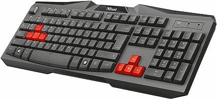 Trust Ziva ES tastiera USB QWERTY Spagnolo Nero, Rosso - Trova i prezzi più bassi