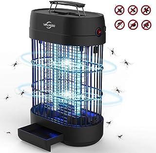 VIFLYKOO Lámpara Antimosquitos,UV Lámpara Anti Mosquitos Destructora de Insectos eléctrica 14W Sin químicos tóxicos,Trampas para Insectos Matamoscas Area efectiva 60㎡ para Interior y Jardin