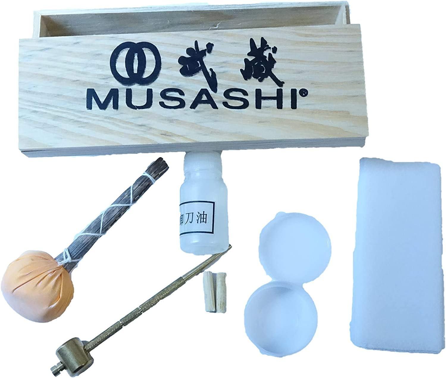 Musashi Japanese A Japan Maker New surprise price is realized Samurai Katana Care Sword Maintenance Cleaning