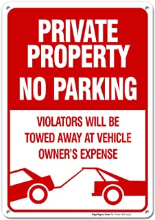 towing unauthorized vehicles