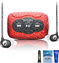 SYRYN 8 GB Waterproof Music Player (Compatible with iTunes Files) and Swimbuds Flip Headphones photo
