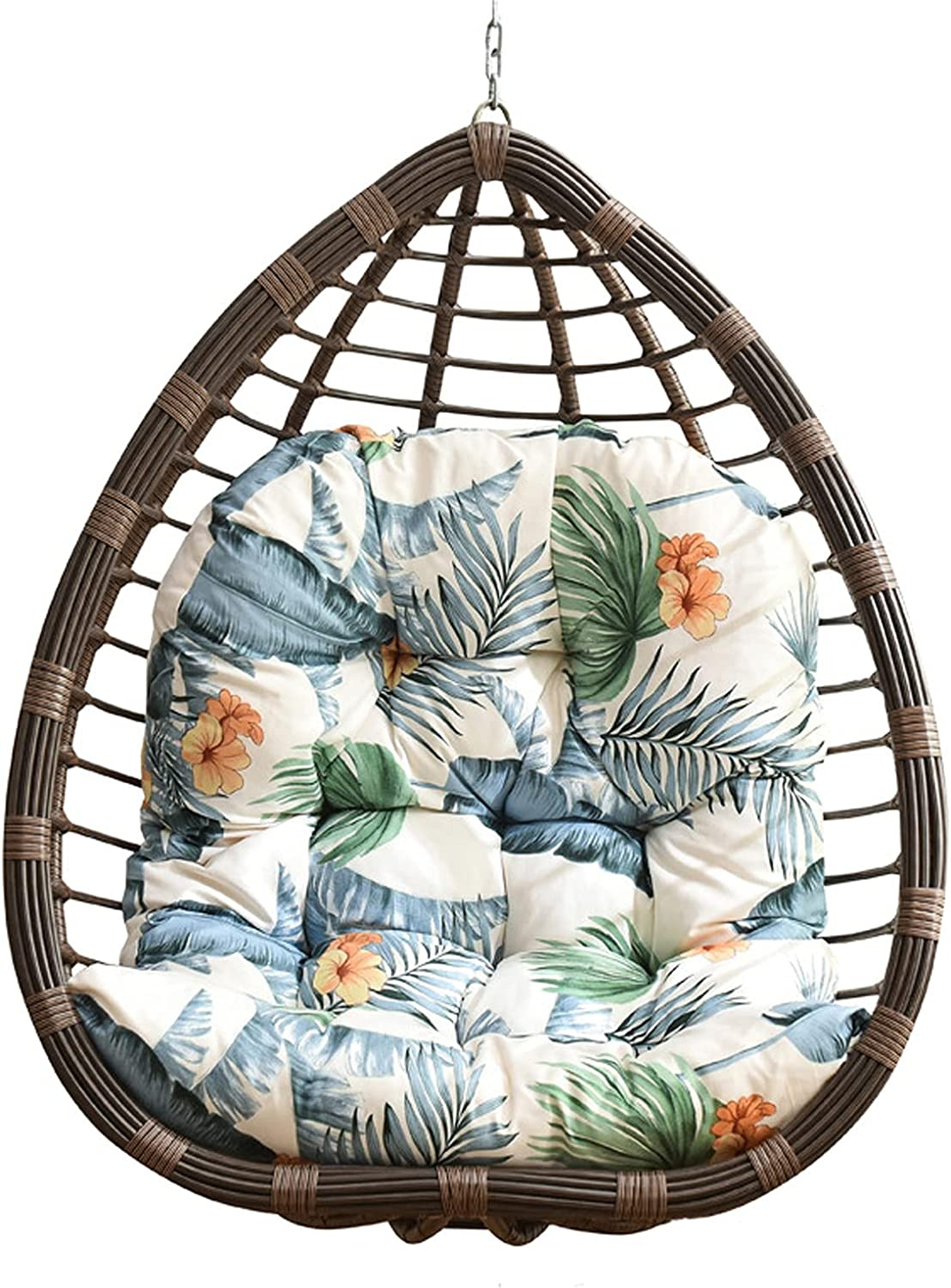 FQCD Soft Thicken Comfy Fort Worth Mall Hammock Cushions OFFicial shop Chair Basket Cus