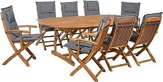 Camping Keinode Juego De Muebles De Jardín 1 Mesa 4 Sillas