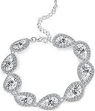 Best silver teardrop bracelet Reviews