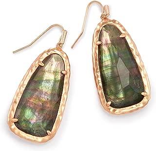 Lyn Drop Earrings In Crystal Gray Illusion