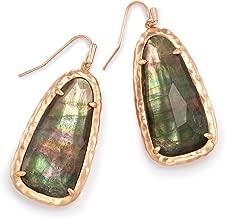 Kendra Scott Lyn Drop Earrings In Crystal Gray Illusion