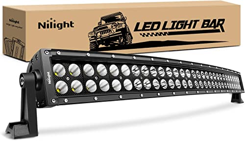 """popular Nilight - 71013C-A 32"""" 180W Spot Flood lowest Combo High Power LED Driving Lamp LED Light Bar Off Road Fog Driving Work Lights for discount SUV Boat Jeep Lamp,2 Years Warranty sale"""