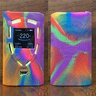 ModShield for Smok ProColor 225W TC Silicone Case ByJojo Cover Skin Wrap Shield (Rainbow)