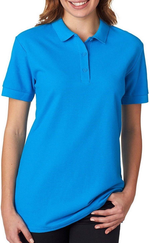 Fashion Gildan 82800L Premium Cotton Ladies Polo