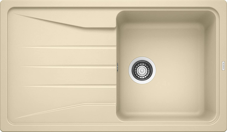 Weiß Sona 5 S, Küchenspüle, Silgranit Puradur, champagner, reversibel, 1 Stück, 519676