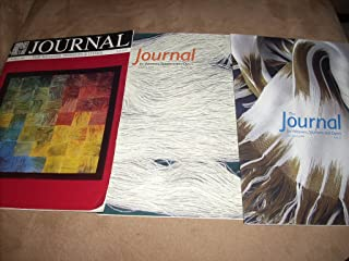 Set of 3 UK Import Magazines - JOURNAL FOR WEAVERS, SPINNERS & DYERS - Issue 165 March 1993, Issue 210 June 2004, and Issue 225 March 2008 - From private collection (no mailing labels, etc ...)