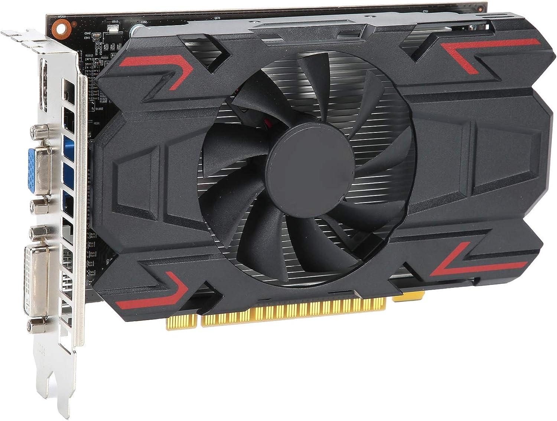 Tarjeta gráfica, Tarjeta gráfica de computadora de 4 GB y 128 bits, Tarjeta gráfica PCI Express 3.0 de 650 MHz para AMD, Accesorios de Red de computadora de Escritorio