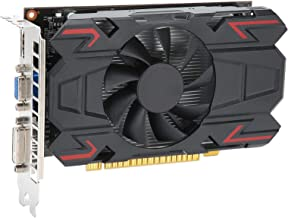 Desktop Computer Graphics Card, 128 Bit 4GB 650MHz Core Frequency DDR5 3D API DirectX 12 Computer Components, Gaming Graph...