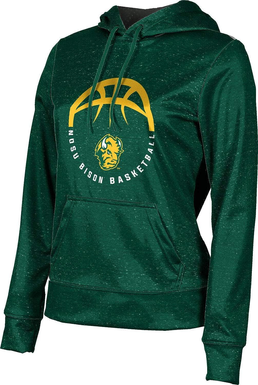 North Dakota State University Basketball Girls' Pullover Hoodie, School Spirit Sweatshirt (Heather)