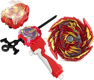 Bey Battle Burst Blade Evolution GT B-155 Booster Master Diabolos.Gn Red Left and Right Launcher Handle Starter Set Gaming...