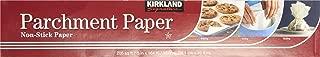 Kirkland Signature 587346 Parchment-1pk Non Stick Parchment, 1 Pack, Clear