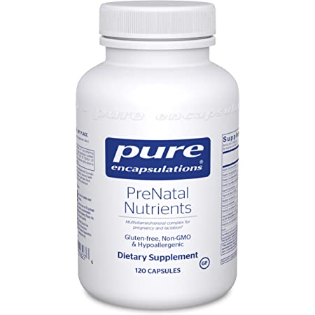 Amazon.com: Pure Encapsulations PreNatal Nutrients | Multivitamin Supplement to Support Pregnancy, Lactation, and Maternal/Fetal Well-Being* | 120 Capsules: Health & Personal Care