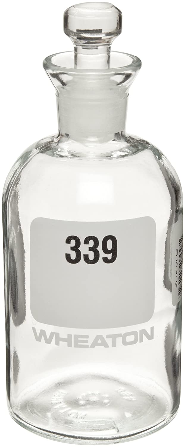 Wheaton 227497-15 BOD Bottle 300mL 3 Numbered Robotic 5 ☆ very popular free Stopper