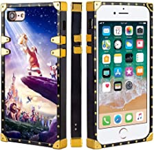 DISNEY COLLECTION Cell Phone Case Fit for iPhone 8 (2017) & iPhone 7 (2016) [4.7-Inch] Disneyland Paris El Rey Leon