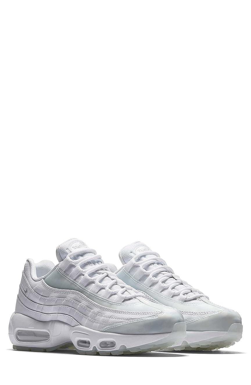 置き場雪だるまを作る不従順ナイキ シューズ スニーカー Nike Air Max 95 SE Running Shoe (Women) White/ Pur [並行輸入品]