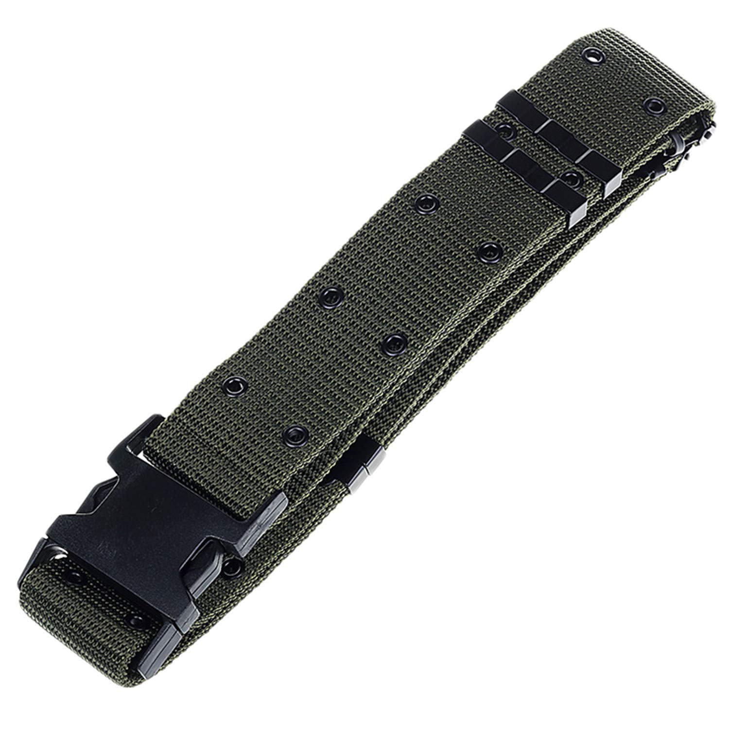 Quantity limited Nashville-Davidson Mall Mens Military Tactical Belt Nylon with Belts Canvas Magn Webbing