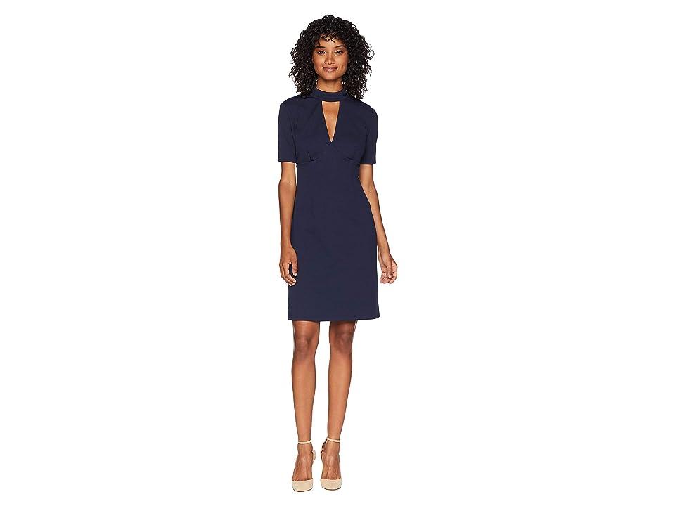 Trina Turk Camari Dress (Indigo) Women