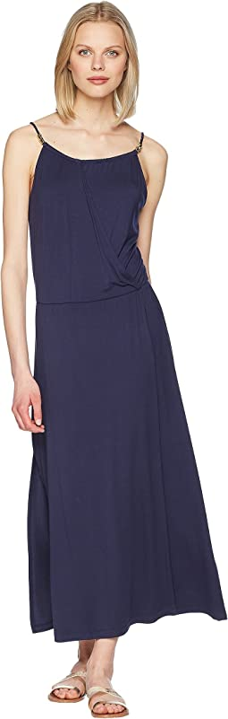 Côte Sauvage Drop Waist Maxi Dress