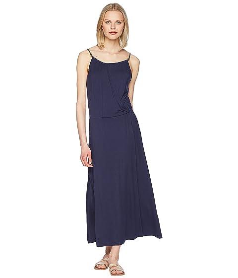 Heidi Klein Côte Sauvage Drop Waist Maxi Dress