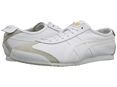Onitsuka Tiger Mexico 66 (White/White 2) Lace up casual Shoes