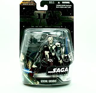 2006 Ultimate Galactic Hunt Chase Piece GENERAL GRIEVOUS / BATTLE OF CORUSCANT Star Wars Return of the Jedi The Saga Colle...
