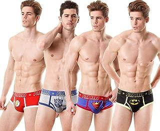 PINKHERO Men's Marvel Print Boxer Briefs Underwear