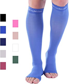 Premium Calf Compression Sleeve 1 Pair 20-30mmHg Strong Calf Support Multiple Colors Graduated Sports Running Recovery Shin Splints Varicose Veins Argyle Skin Tones 2XL 3XL 4XL 5XL