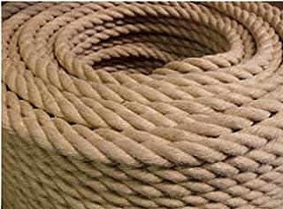 Raffiné 26/28mm d'épaisseur corde de corde de chance de chanvre de la corde de jute, corde de jute naturel, corde de terra...
