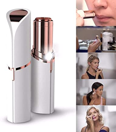 Flawless Finishing Touch Painless Hair Remover for Women (Rose Gold)