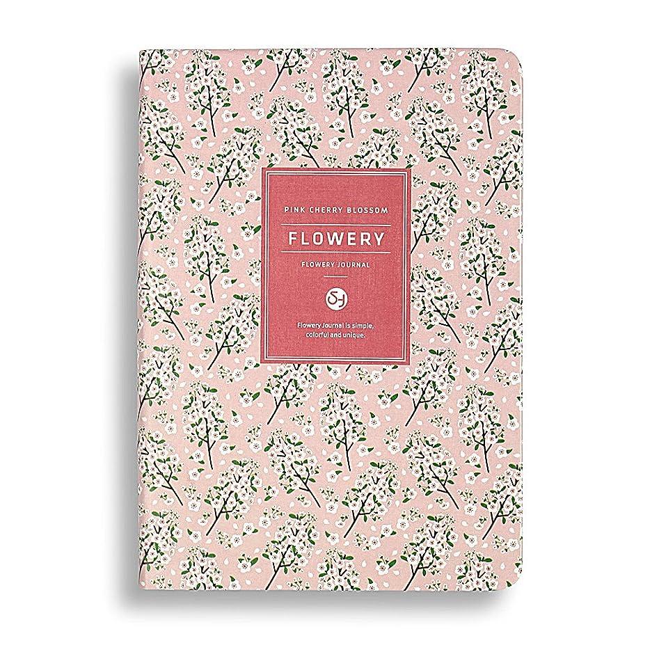Zhi Jin 1冊 花の柄ノート a5 メモ帳 日記帳 学校 オフィス ピンク