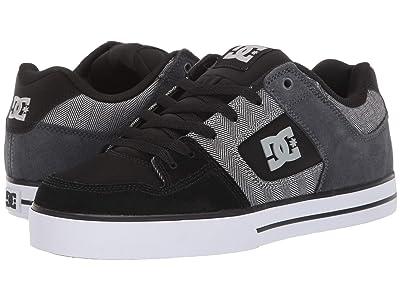 DC Pure SE (Black/Grey/White) Men
